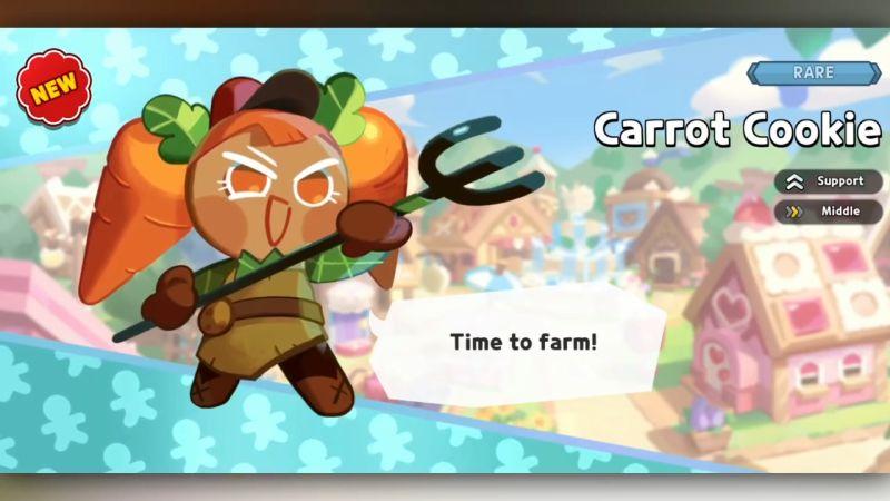 carrot cookie cookie run kingdom