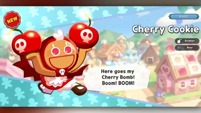 cherry cookie cookie run kingdom
