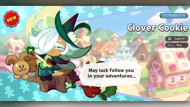 clover cookie cookie run kingdom