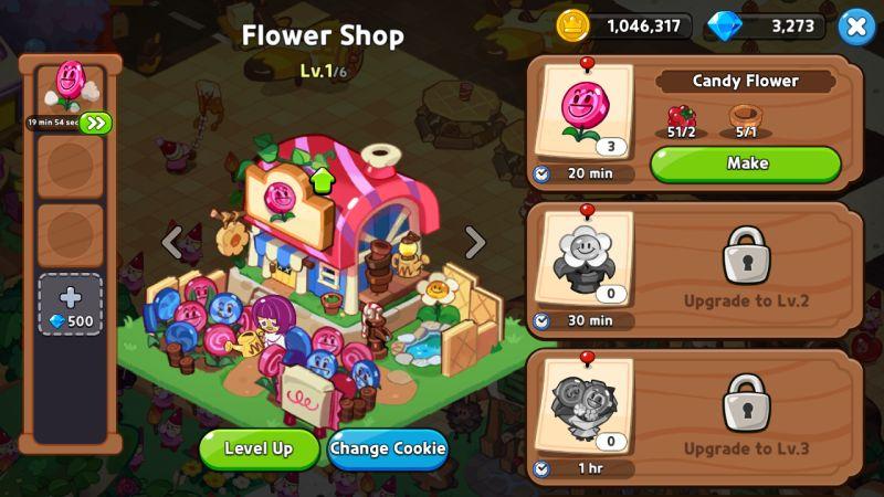 flower shop cookie run kingdom
