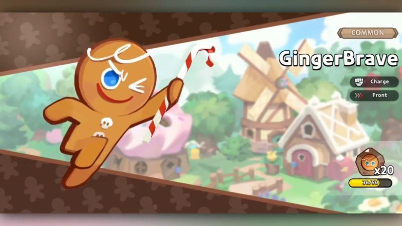 gingerbrave cookie cookie run kingdom