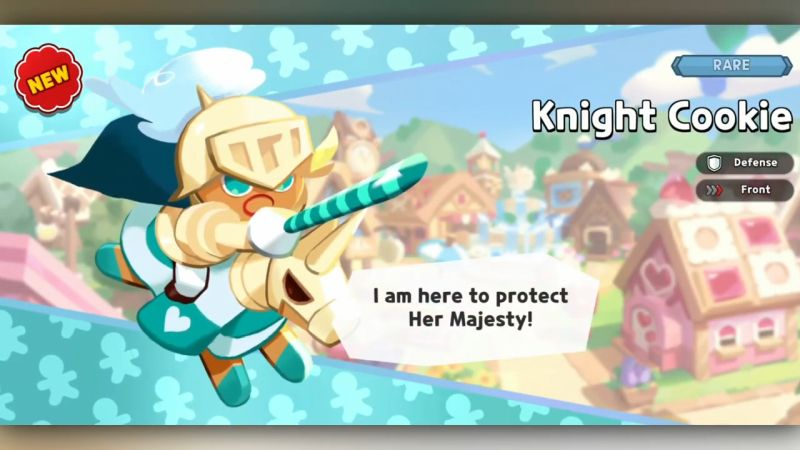 knight cookie cookie run kingdom
