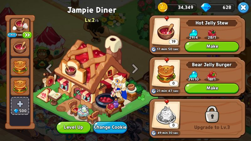 level 2 safe zone cookie run kingdom