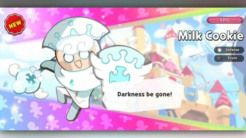 milk cookie cookie run kingdom
