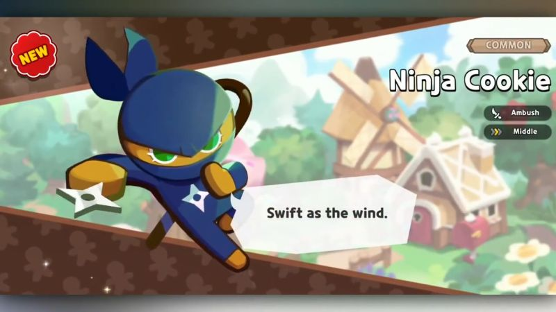 ninja cookie cookie run kingdom