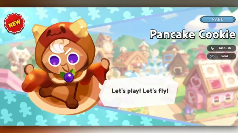 pancake cookie cookie run kingdom
