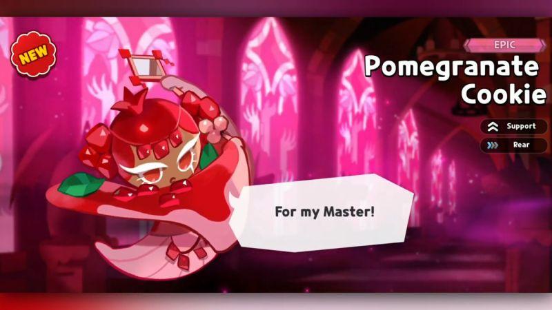 pomegranate cookie cookie run kingdom
