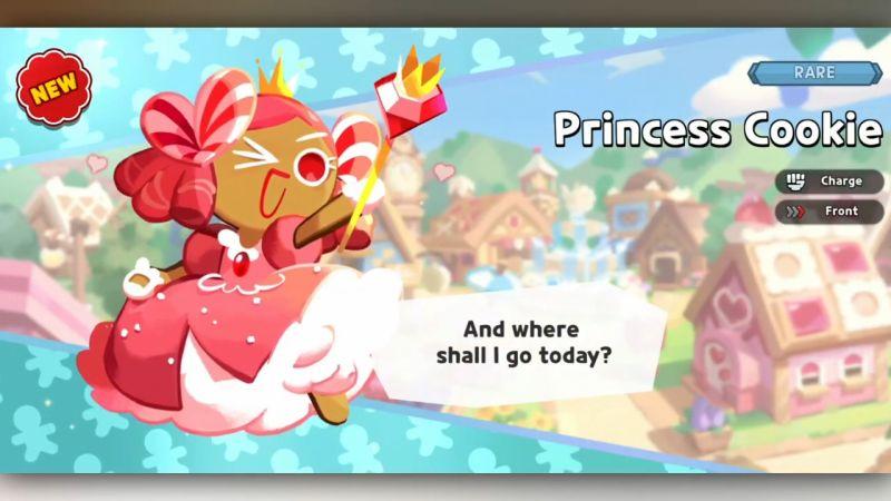 princess cookie cookie run kingdom