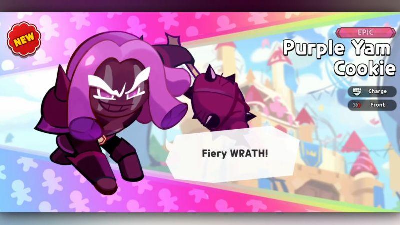 purple yam cookie cookie run kingdom