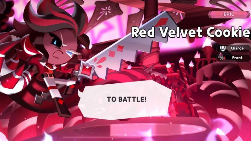 red velvet cookie cookie run kingdom