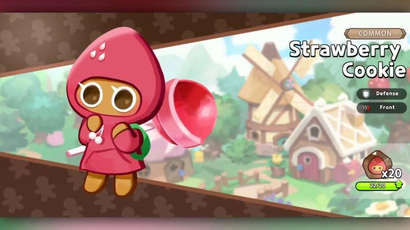 strawberry cookie cookie run kingdom