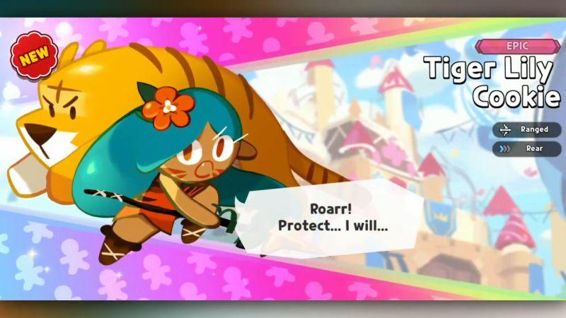 tiger lily cookie cookie run kingdom