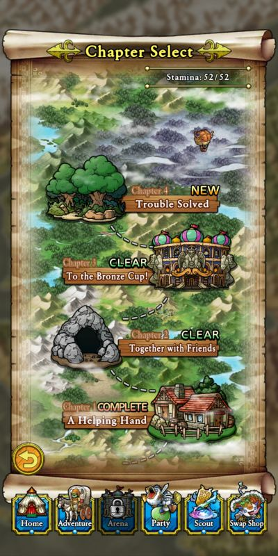 story mode dragon quest tact