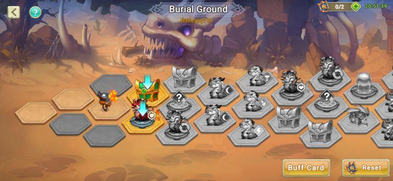 dragon tamer burial ground