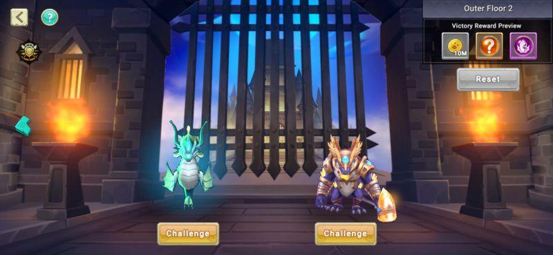 dragon tamer dark trial stage