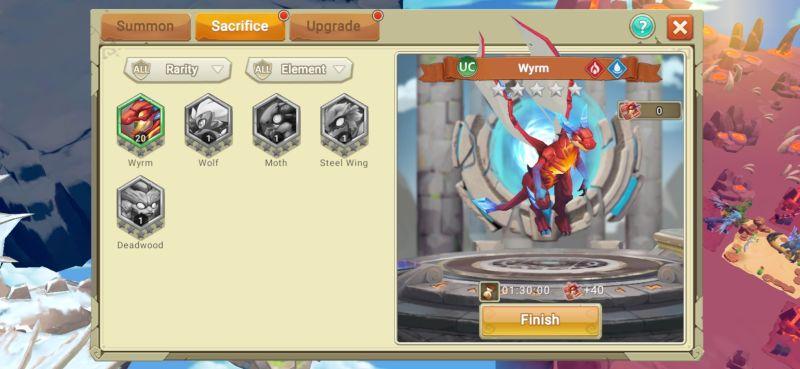 dragon sacrificing dragon tamer