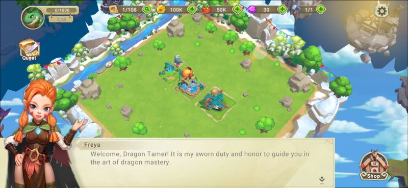 freya dragon tamer