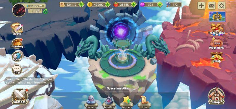 spacetime altar dragon tamer