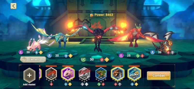 team composition dragon tamer