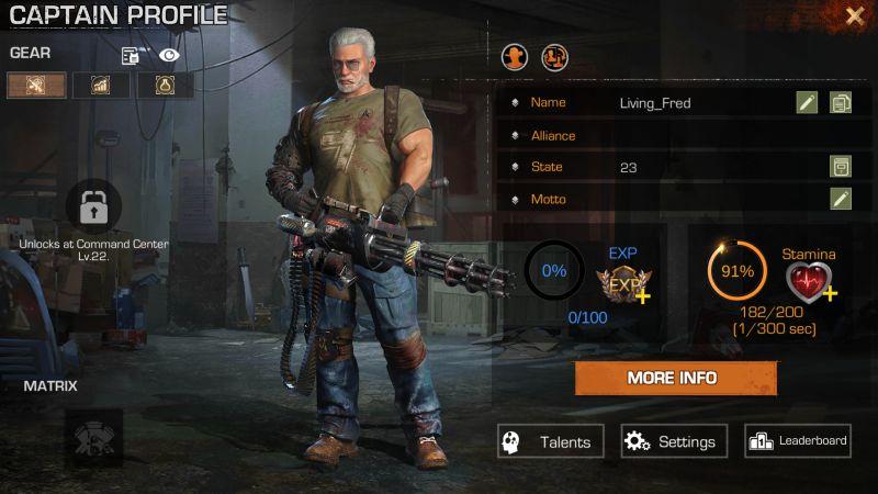 first refuge z captain profile