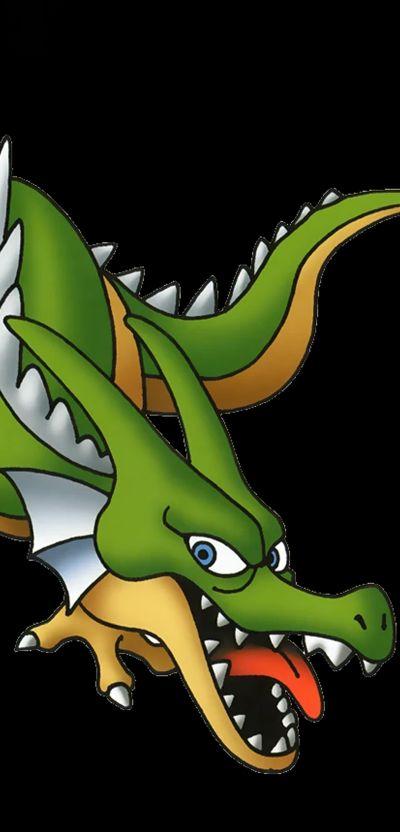 green dragon dragon quest tact