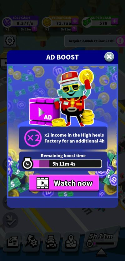 income multiplier idle super factory