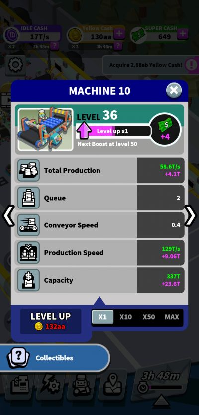 machine upgrade idle super factory