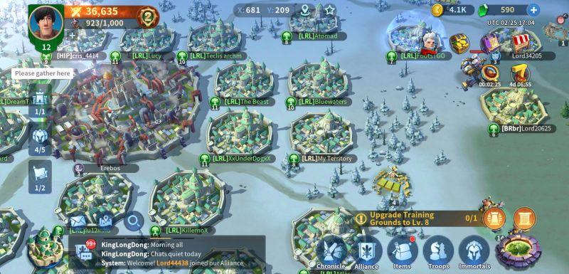 infinity kingdom attacking strategy