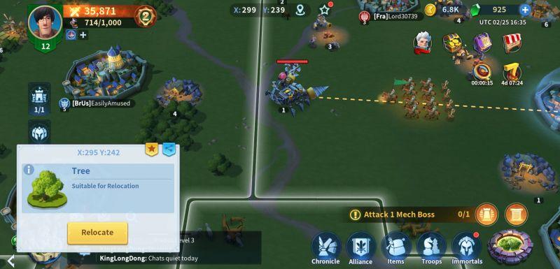 infinity kingdom battle tactics