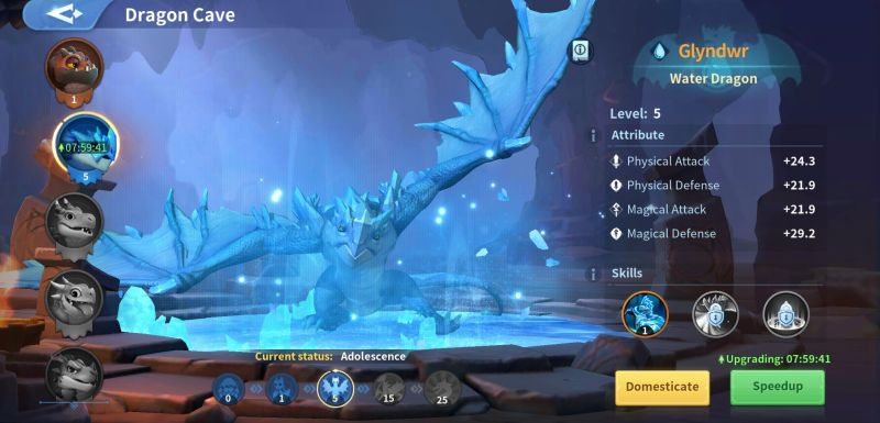 infinity kingdom dragon cave