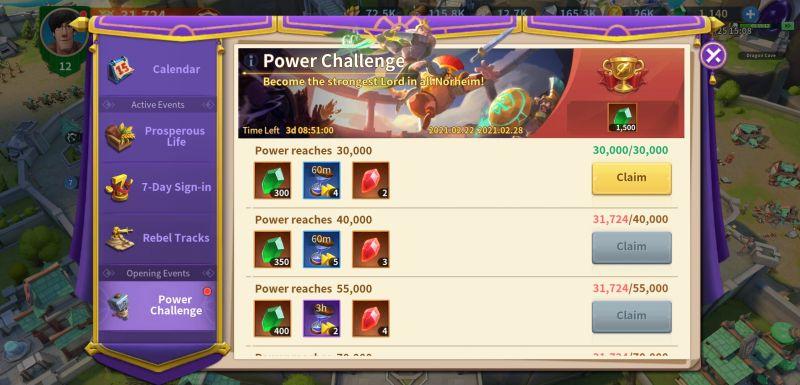 infinity kingdom event