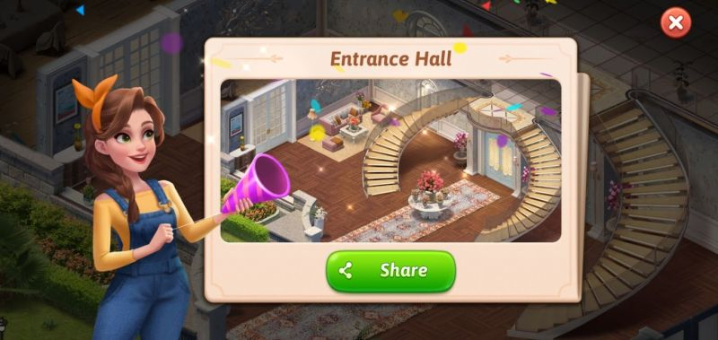 entrance hall my story mansion makeover
