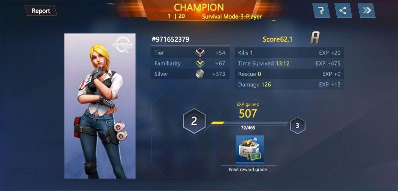 omega legends champion