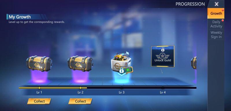 omega legends rewards