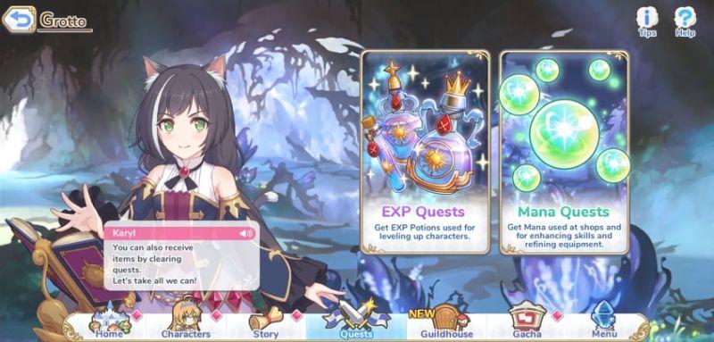 princess connect re: dive грот квесты