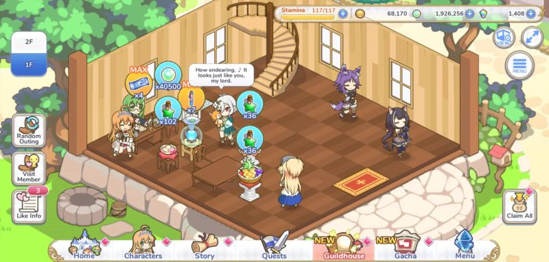 принцесса коннект re: dive guildhouse