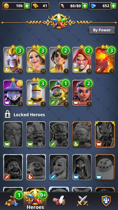 rivengard heroes list