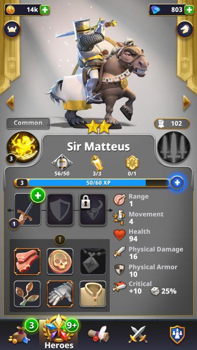 rivengard sir matteus
