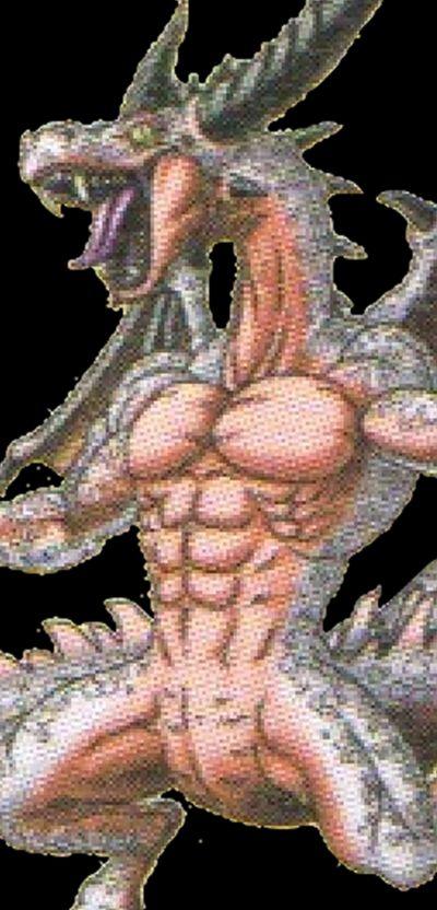 royal reptile dragon quest tact