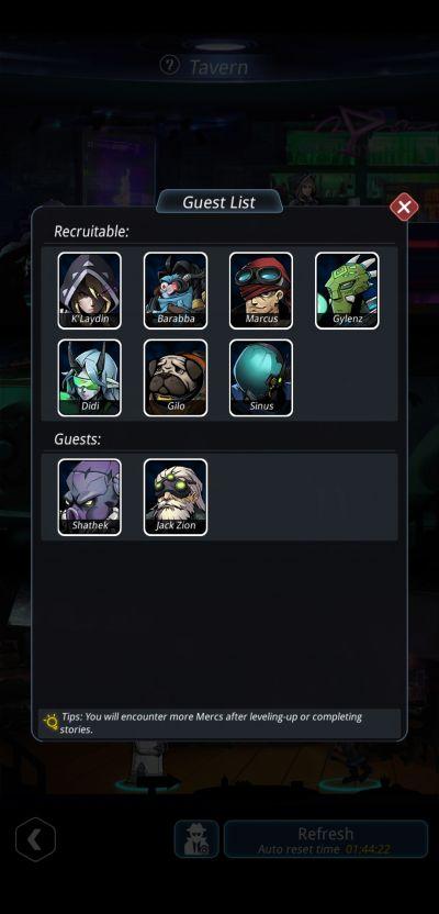 stellar hunter recruitable mercs