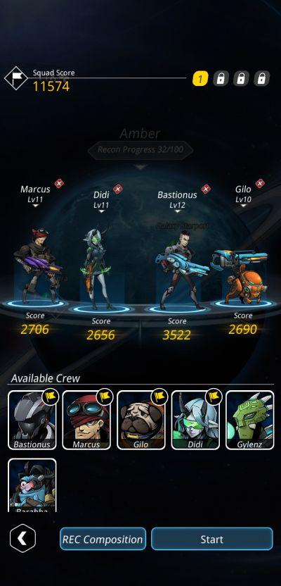 stellar hunter team lineup