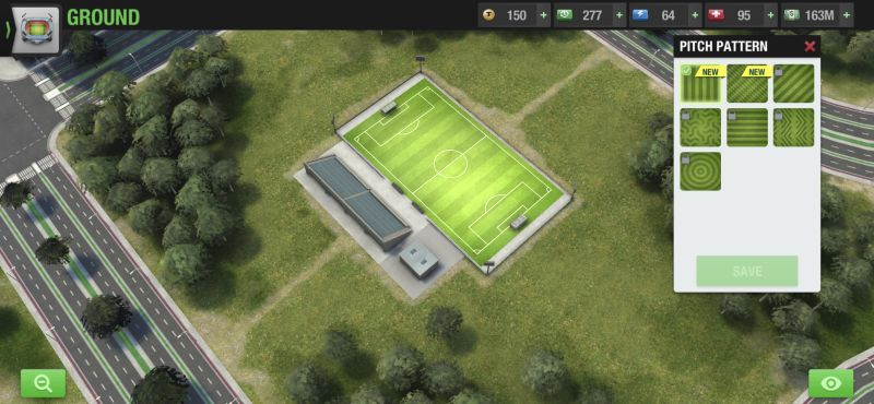 top eleven 2021 pitch patterns