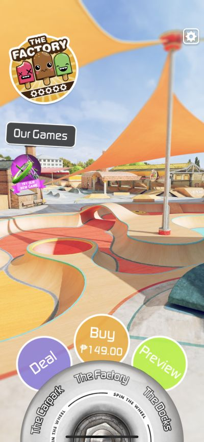 touchgrind skate 2 locations