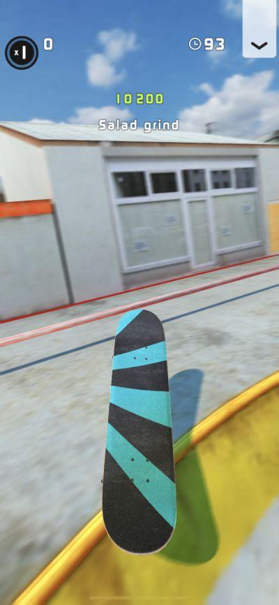 touchgrind skate 2 salad grind