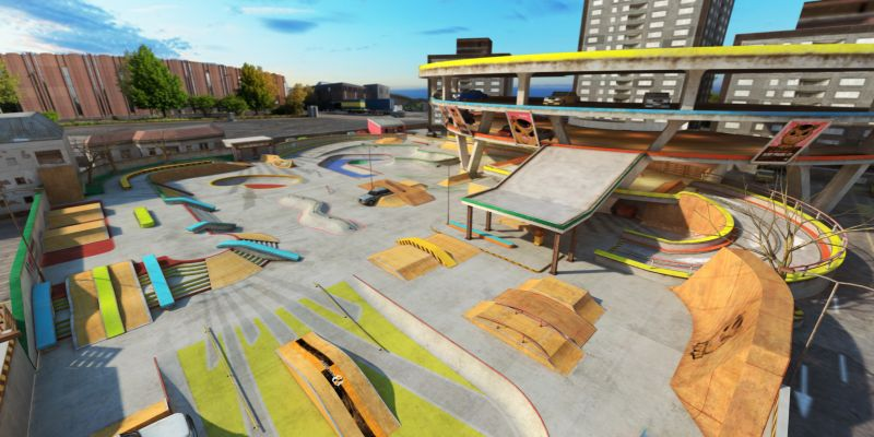 touchgrind skate 2 tricks