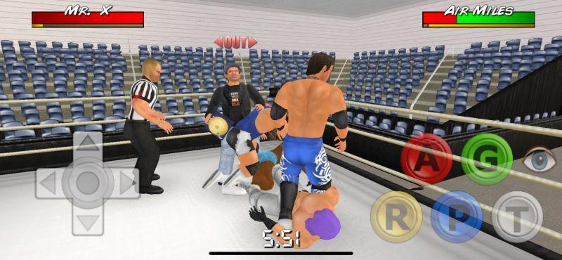 wrestling empire focus button