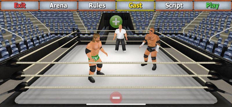 wrestling empire paid membership