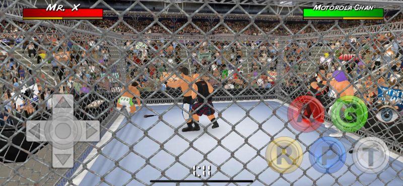 wrestling empire war match
