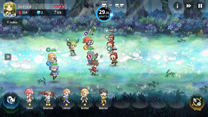 arcana tactics battle
