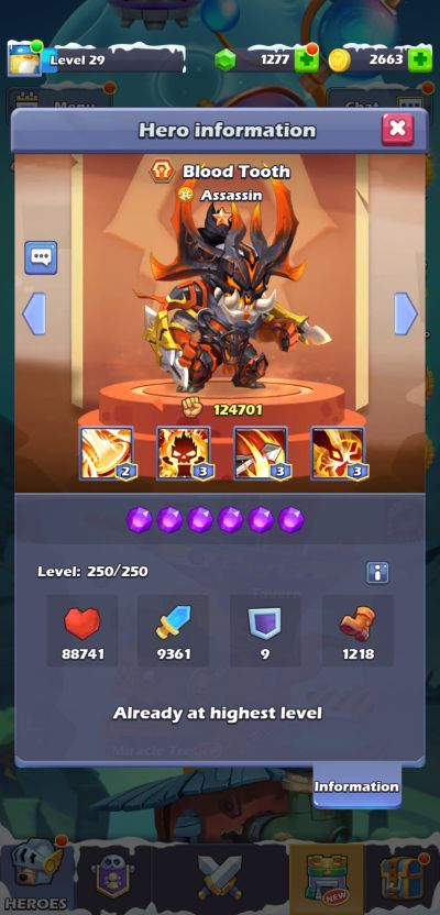 blood tooth taptap heroes